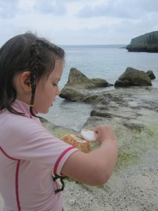 Dégustation sur la plage