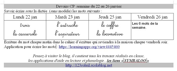 devoirs cahier 08