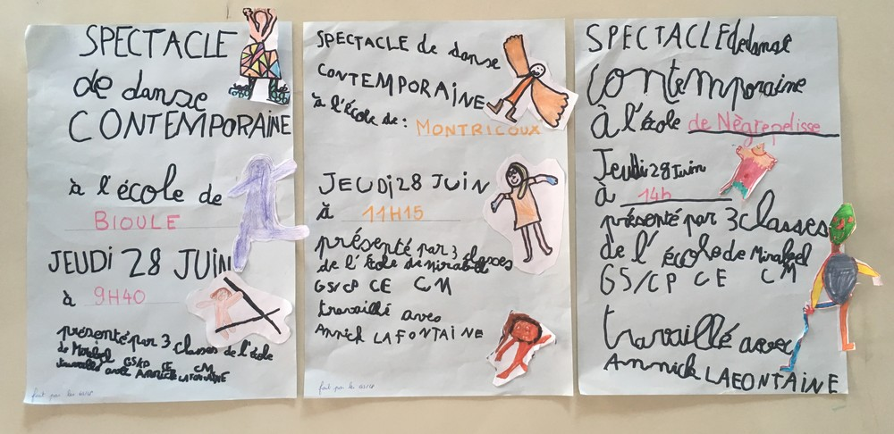 affiches spectacle 28 juin