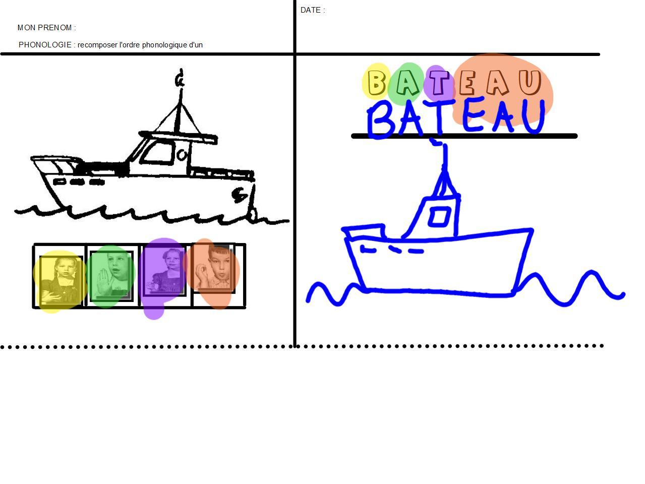 4 bateau