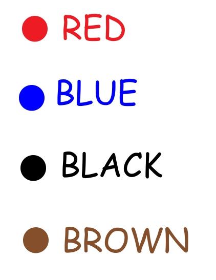 lesson 7 colors