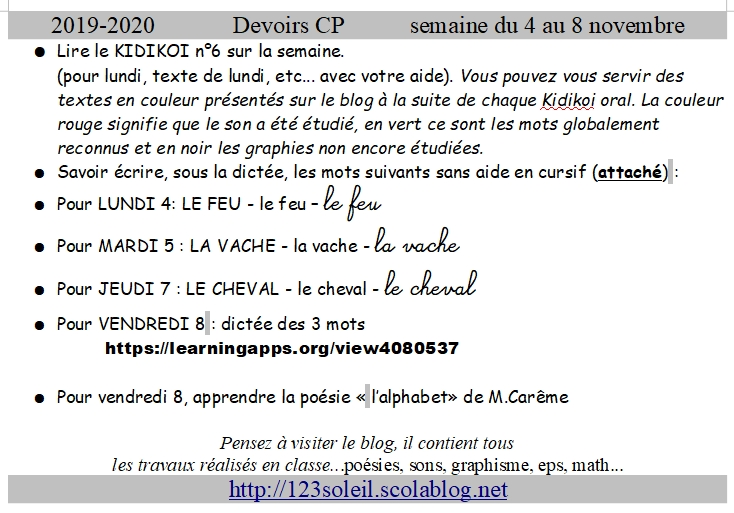 devoirs 01