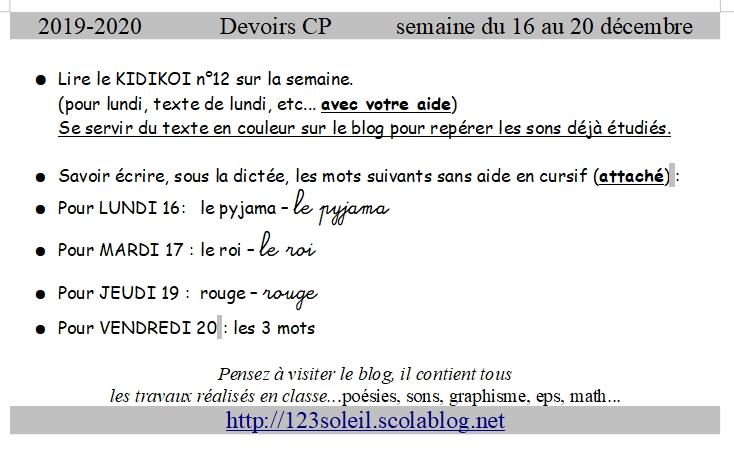 dictee k13