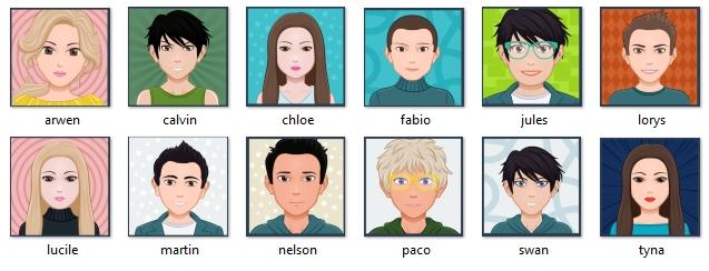 avatars CP