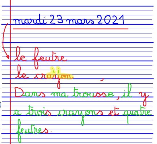 CP dictee 230321