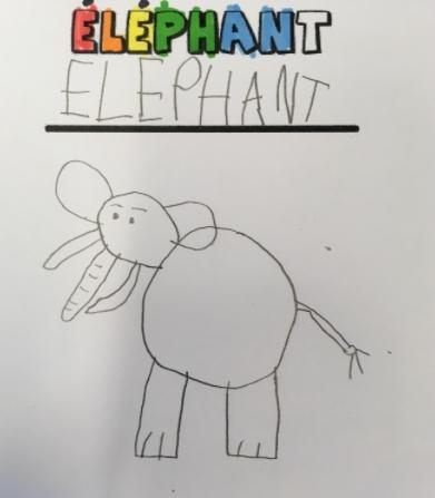 Emma elephant dessin