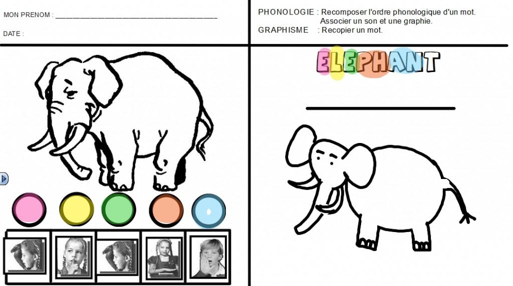 gs ELEPHANT ELEVE bm