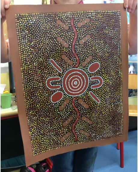 peinture aborigene